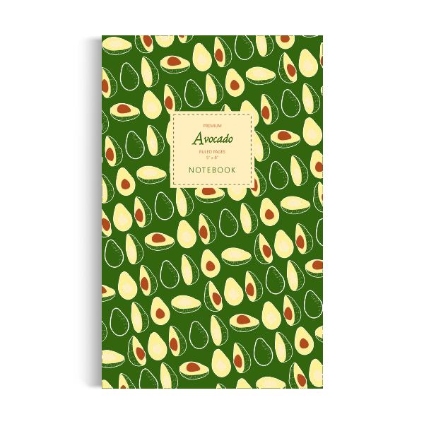 Notebook: Avocado - Green Edition