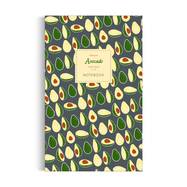 Notebook: Avocado - Winter Edition