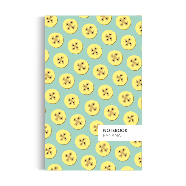 Banana Notebook: Mint Green Edition (5x8 inches)