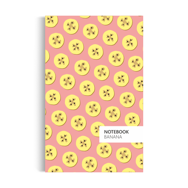 Banana Notebook: Peach Edition (5x8 inches)