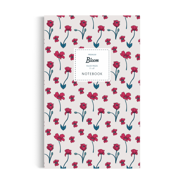 Notebook: Bloom - Classic Edition (5x8 inches)