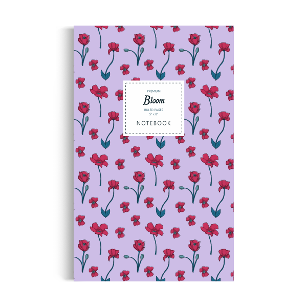 Bloom Notebook: Purple Edition (5x8 inches)