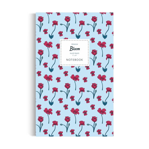 Bloom Notebook: Sky Blue Edition (5x8 inches)