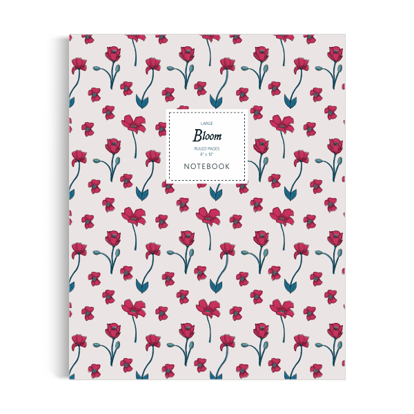 Bloom Notebook: Classic Edition (8x10 inches)