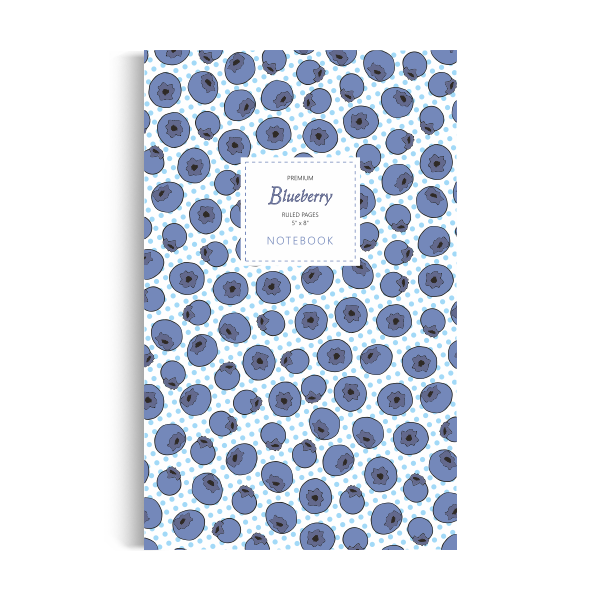 Blueberry Notebook: Blue Edition (5x8 inches)
