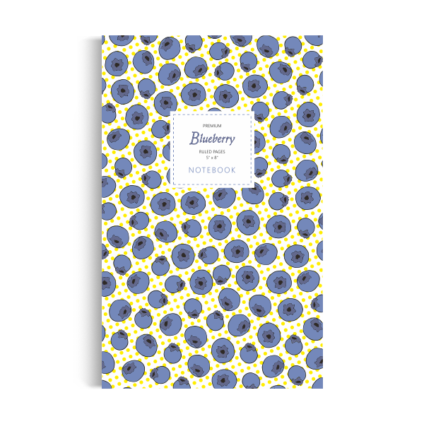 Notebook: Blueberry - Yellow