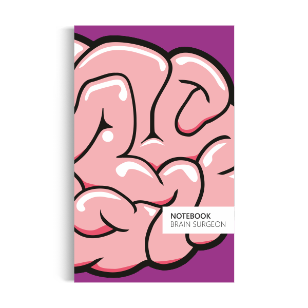 Brain Surgeon Notebook: Purple Edition (5x8)