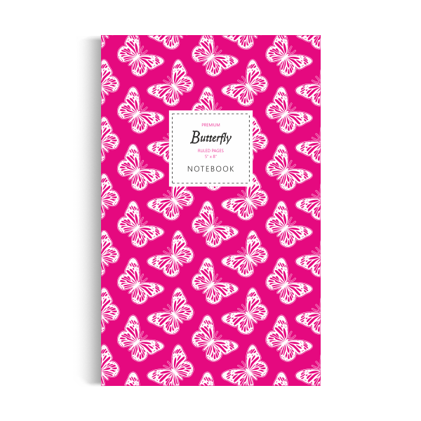 Notebook: Butterfly - Magenta Edition