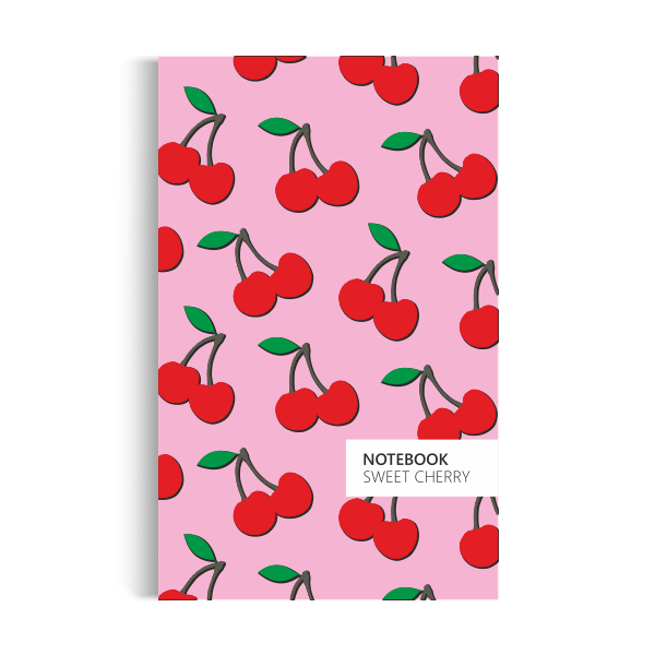 Cherry Notebook: Pink Edition (5x8 inches)