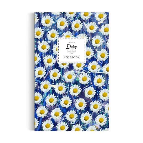 Daisy Notebook: Blue Leaf Edition (5x8 inches)