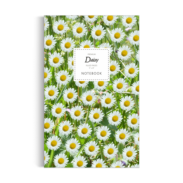 Notebook: Daisy - Green Leaf Edition (5x8 inches)