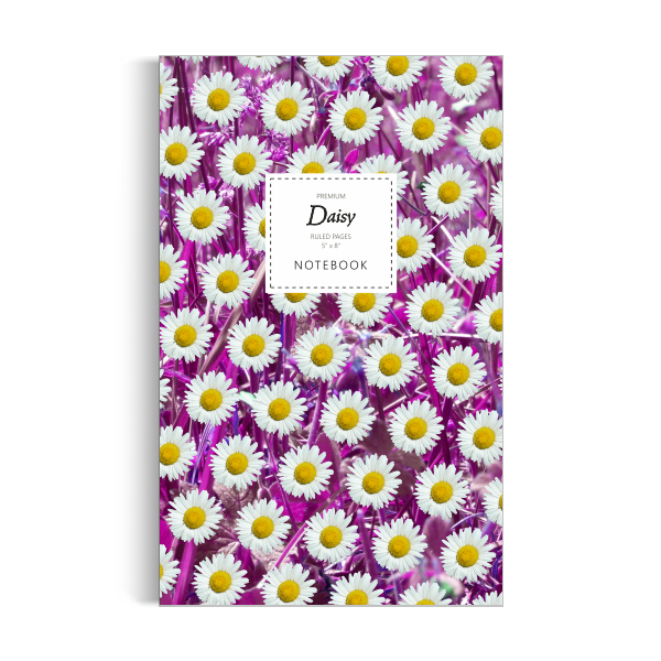 Daisy Notebook: Pink Leaf Edition (5x8 inches)