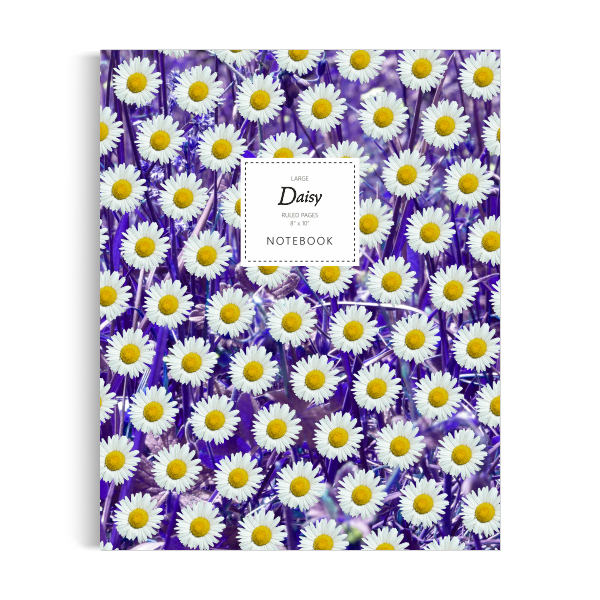 Daisy Notebook: Purple Leaf Edition (5x8 inches)