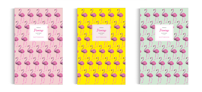 Notebook: Flamingo - Collection