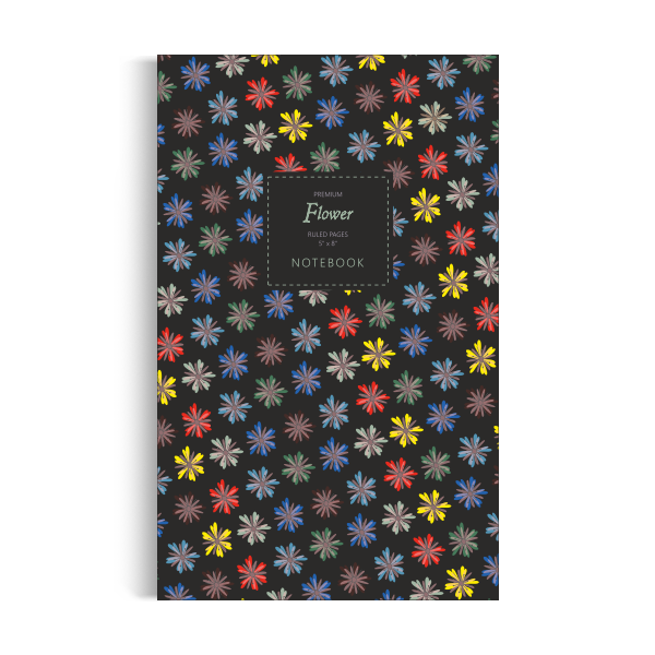 Flower Notebook: Dark Summer Edition (5x8)