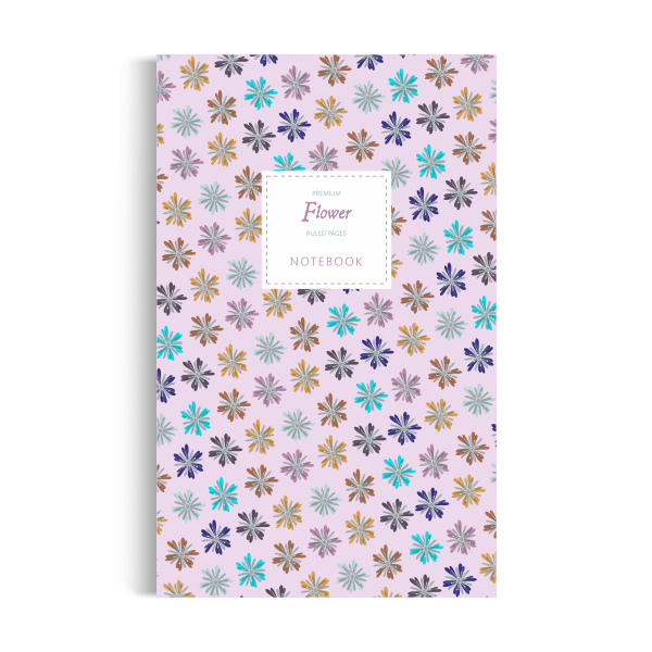 Flower Notebook: Pink Winter Edition (5x8)