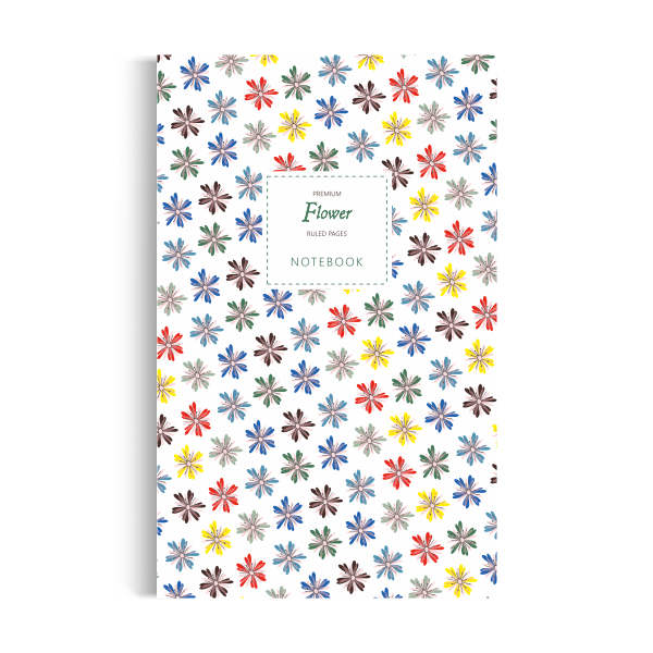Notebook: Flower - White Summer Edition