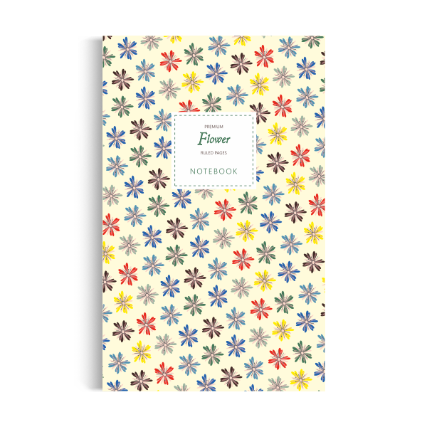 Flower Notebook: Yellow Summer Edition (5x8)