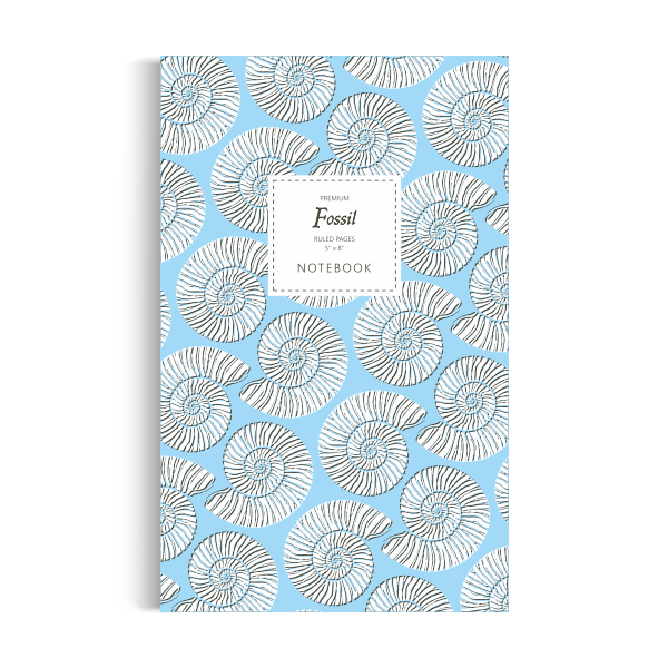Fossil Notebook: Blue Water Edition (5x8 inches)