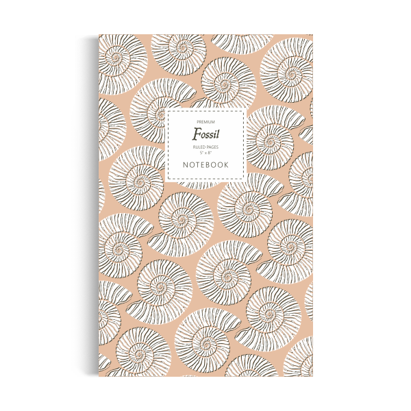 Fossil Notebook: Clay Edition (5x8 inches)