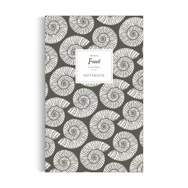 Fossil Notebook: Mud Edition (5x8 inches)