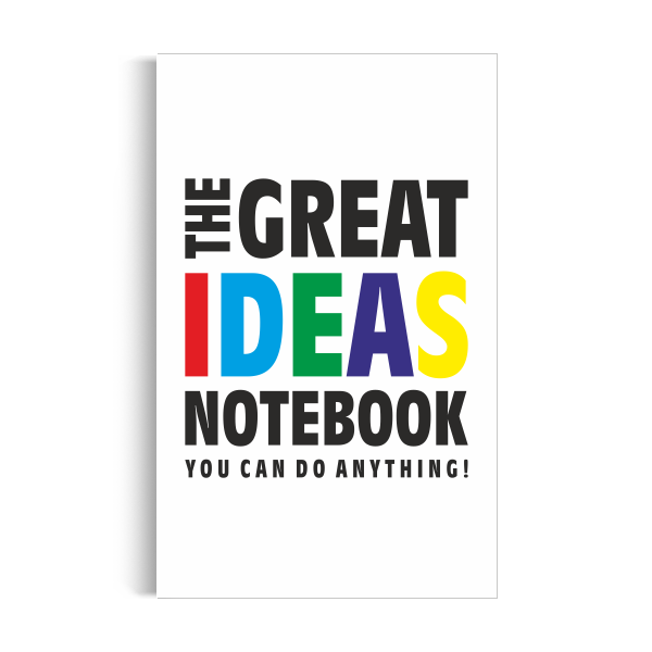 Notebook: Great Ideas - White Edition