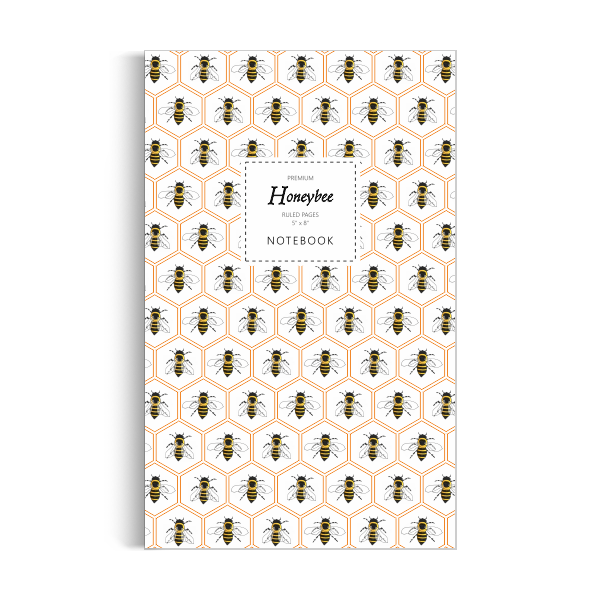 Honeybee Notebook: Honey Edition (5x8 inches)