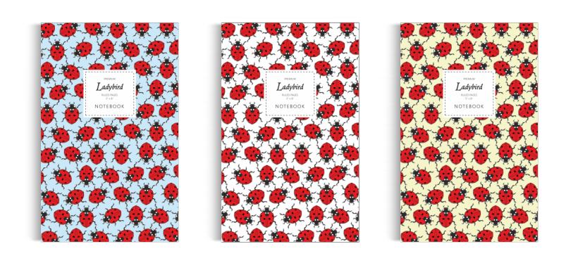 Notebook: Ladybird Collection (5x8 inches)