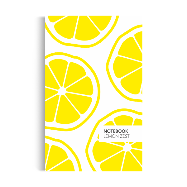 Notebook: Lemon Zest - Original Edition