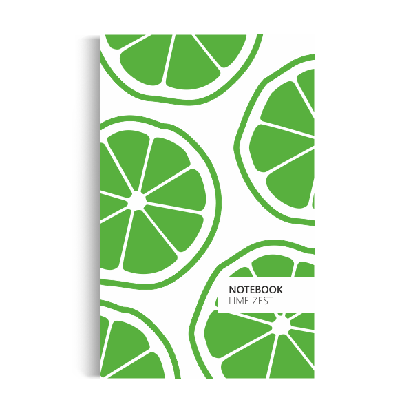 Notebook: Lime Zest - Original Edition (5x8)
