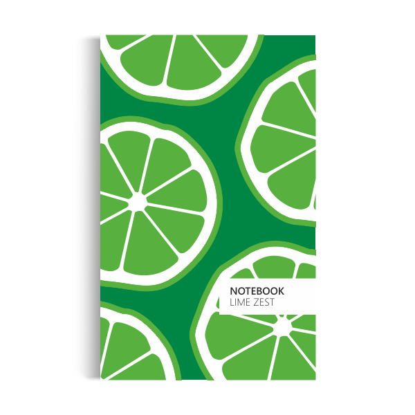 Lime Zest Notebook: Green Edition (5x8 inches)