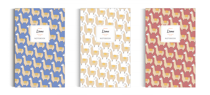 Notebook: Llama Collection (5x8 inches)