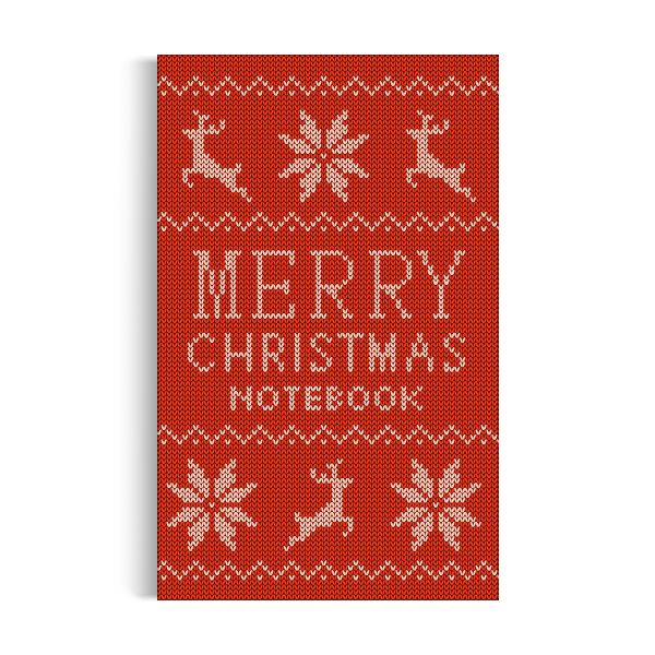 Notebook: Merry Christmas