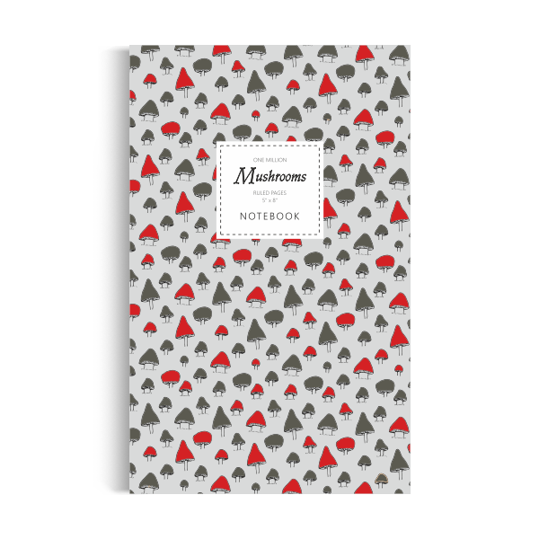 One Million Mushrooms Notebook: Autumn Edition (5x8 inches)