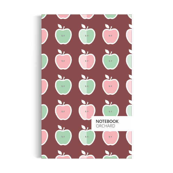 Orchard Notebook: Brown Edition (5x8 inches)