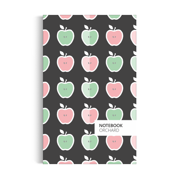 Orchard Notebook: Dark Edition (5x8 inches)