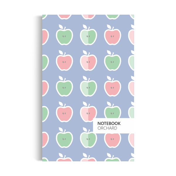 Orchard Notebook: Pastel-blue Edition (5x8 inches)