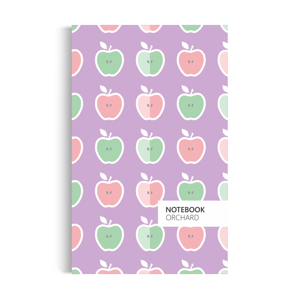 Orchard Notebook: Pastel-purple Edition (5x8 inches)