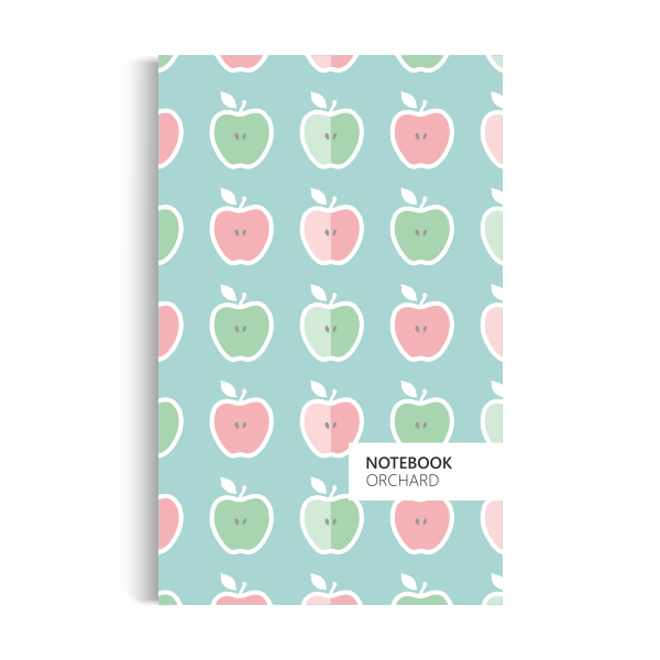 Notebook: Orchard - Pastel-turquoise Edition (5x8 inches)