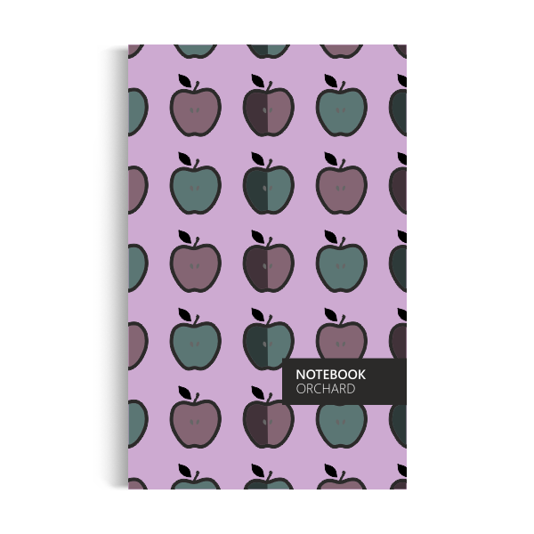 Orchard Notebook: Winter-purple Edition (5x8 inches)