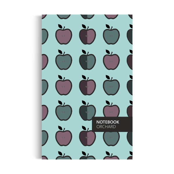 Orchard Notebook: Winter-turquoise Edition (5x8 inches)