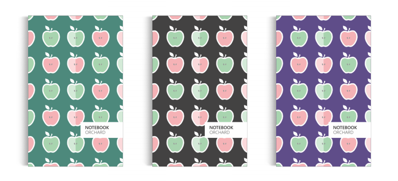 Notebook: Orchard Collection (5x8 inches)