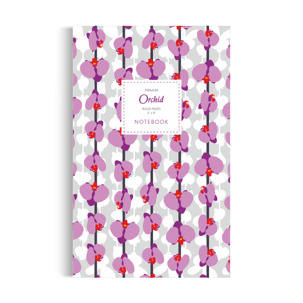 Orchid Notebook: Day Dream Believer Edition (5x8 inches)