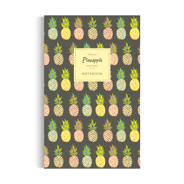 Notebook: Pineapple - Dark Edition