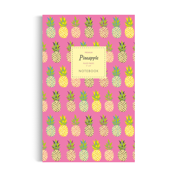 Pineapple Notebook: Pink Edition (5x8 inches)
