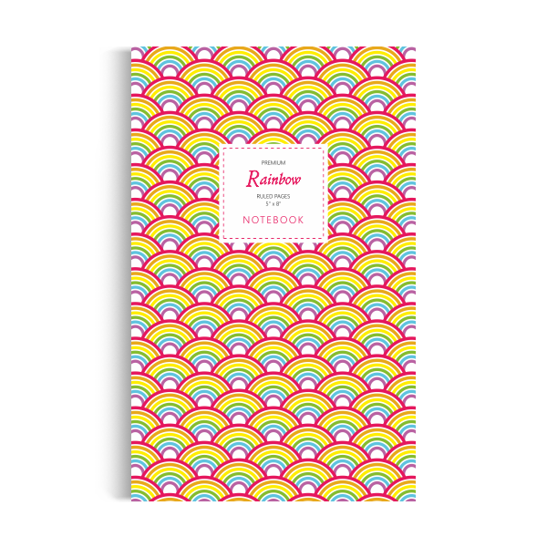 Rainbow Notebook: Original Edition (5x8 inches)