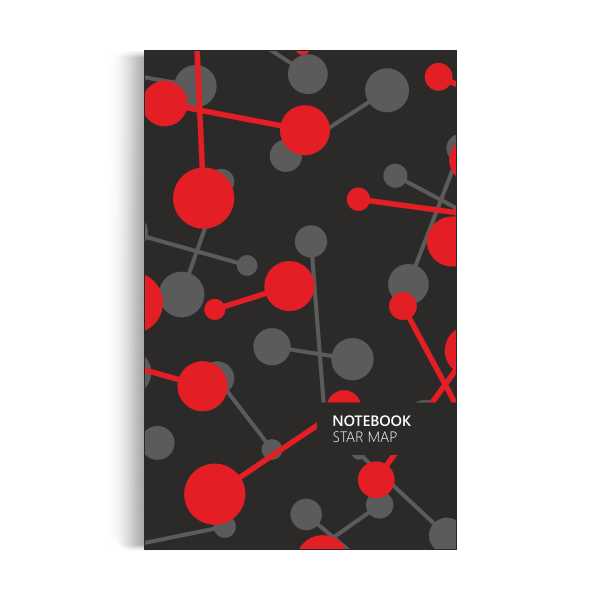 Star Map Notebook: Red Giant Edition (5x8 inches)