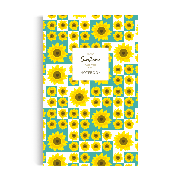 Notebook: Sunflower (5x8 inches)