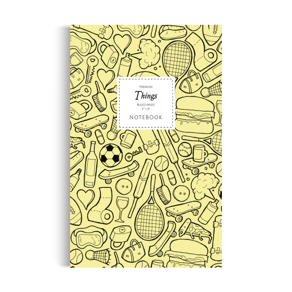 Things Notebook: Yellow Edition (5x8 inches)