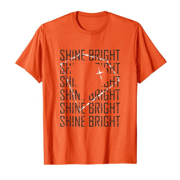 Tops & T-Shirts: Diamond / Shine Bright (Men, Women & Kids)
